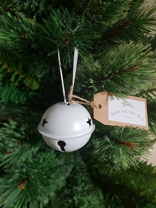 White Bell Bauble