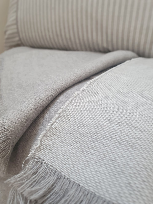 Hartley Grey Throw