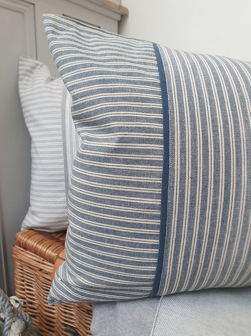 Colemore Rectangle Ticking Cushion