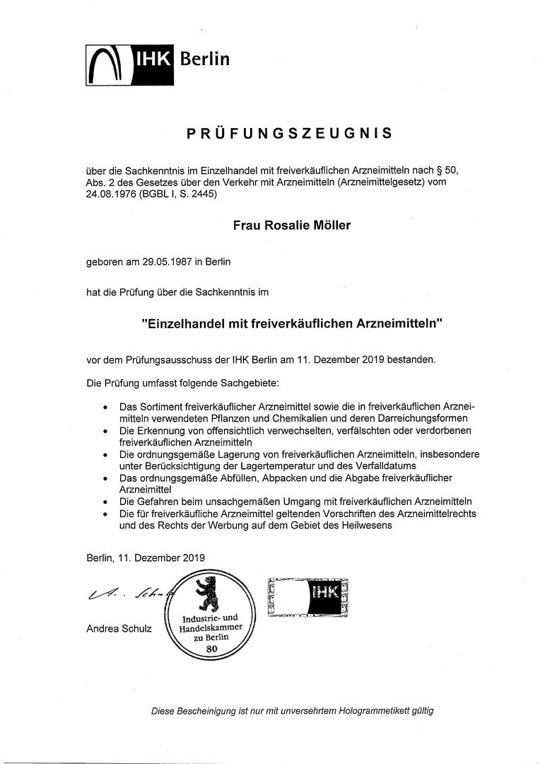 IHK Zertifikat 2