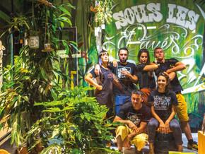 Des artistes locaux : Le collectif Sous les Pavés La Plante