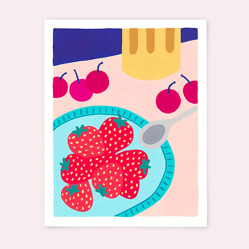 Les fraises - Marion Ply