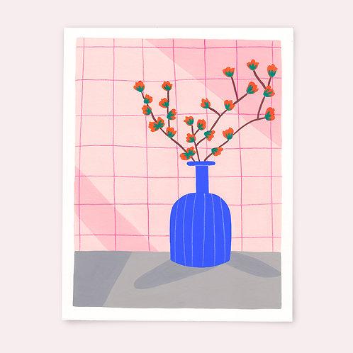 Le vase bleu - Marion Ply