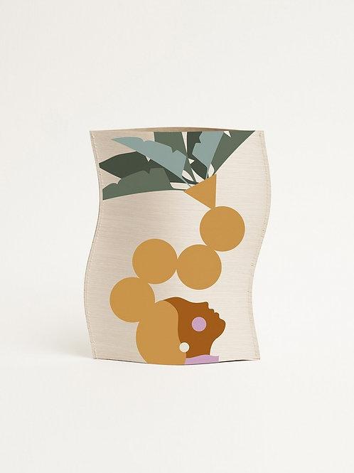 Vase en bois design Palma