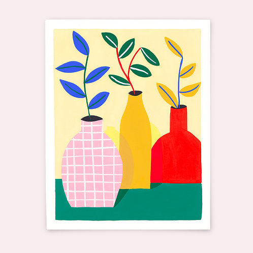 Les 3 grands vases - Marion Ply