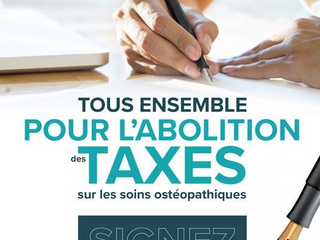 Les ostéopathes désirent un ordre professionnel : l'imposition de la taxation réactive ce dossier