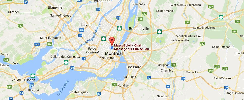 MassoSoleil chair MASSAGE sur chaise : Montréal, Laval, Rive-Sud et tout le Québec!