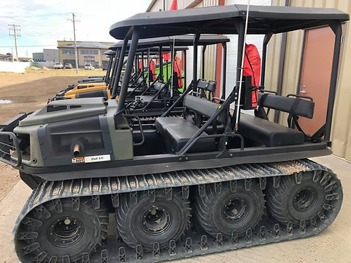 Argo Conquest 8x8 - Rear Bench Seat, Windshield, and Roof