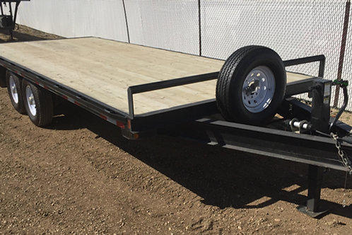20' High Deck Tandem Axle