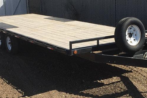 24' High Deck Tandem Axle