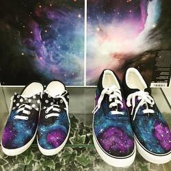 お揃いのお靴。__#odetojoy#accessor#宇宙#宇宙靴#galax