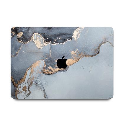 "apple macbook air pro retina touchbar 11 12 13 14 15 16"" inch blue ocean marble case cover protector malaysia"
