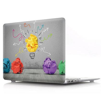 creative light bulb macbook air pro retina 11 12 13 15 design case cover malaysia