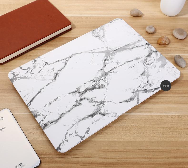 Marble white grey