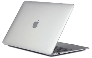 Macbook air pro retina touchbar 11 12 13 15 16 matte crystal case cover with without logo cut out malaysia