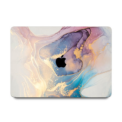 """apple macbook air pro retina touchbar 11 12 13 14 15 16"""" inch abstract marble case cover protector malaysia"""