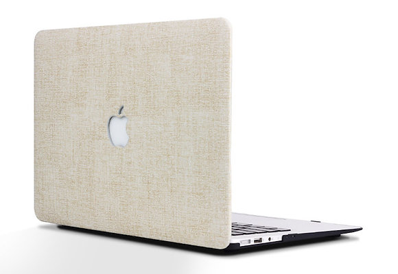 natural white rice flax macbook air pro retina touchbar 11 12 13 15 case cover malaysia