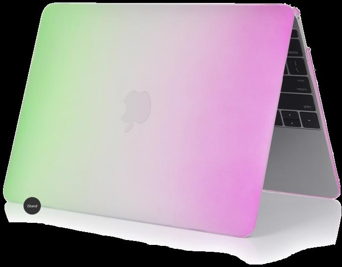 rainbow green pink