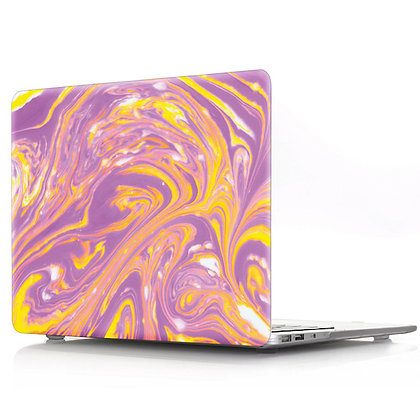 purple yellow marble macbook air pro retina 11 12 13 15 case cover malaysia