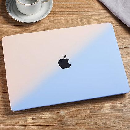 apple macbook air pro retina touchbar 11 12 13 14 15 16 inch m1 pink blue gradient case cover protector