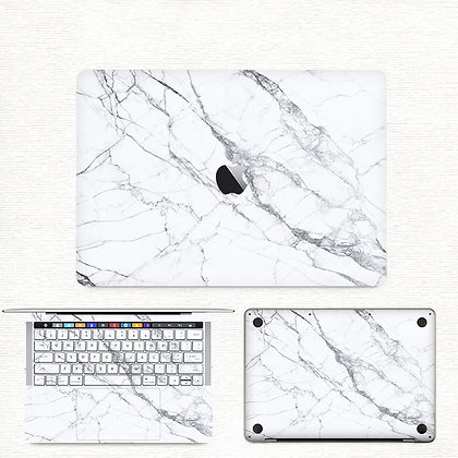 apple macbook pro air retina touchbar 11 12 13 15 inch decal skin sticker marble
