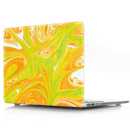 orange green marble macbook air pro retina 11 12 13 15 case cover malaysia