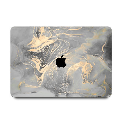 """apple macbook air pro retina touchbar 11 12 13 14 15 16"""" inch cloud marble case cover protector malaysia"""
