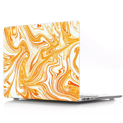 orange marble macbook air pro retina 11 12 13 15 case cover malaysia