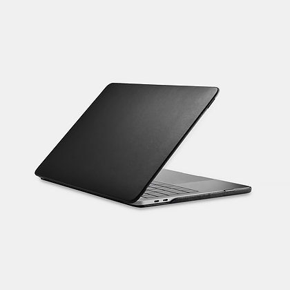 apple macbook air pro retina touchbar 11 12 13 14 15 16 inch black premium high grade microfibre leather case cover protector