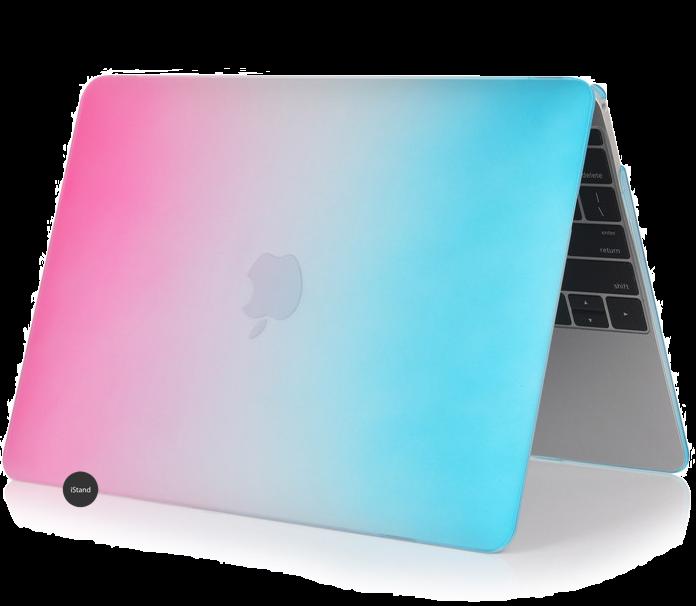Rainbow blue pink
