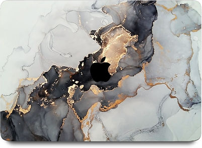 """apple macbook air pro retina touchbar 11 12 13 14 15 16"""" inch marble case cover protector malaysia"""