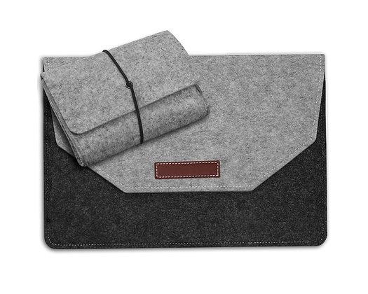 macbook air pro retina touchbar 11 12 13 15 wool felt classic sleeve case bag pouch malaysia