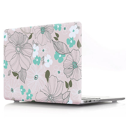 floral flower macbook air pro retina 11 12 13 15 case cover malaysia
