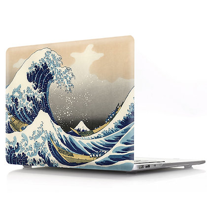 sea wave macbook air pro retina 11 12 13 15 design case cover malaysia