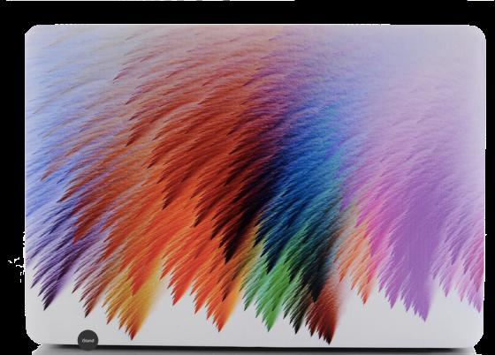 Art- Colorful phoenix feather