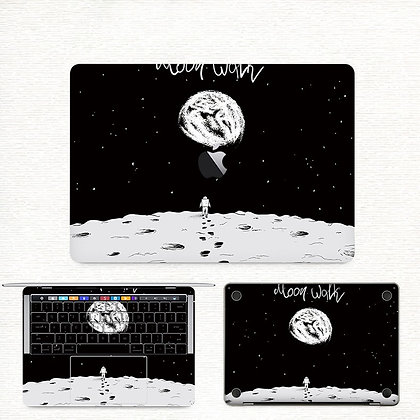 apple macbook pro air retina touchbar 11 12 13 15 inch decal skin sticker moon