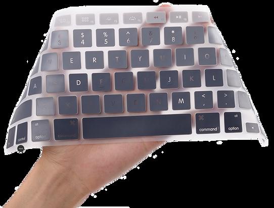 macbook air/pro/retina silicon keyboard protector cover malaysia
