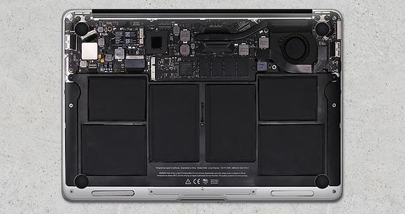 Macbook internal design