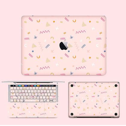 apple macbook pro air retina touchbar 11 12 13 15 inch decal skin sticker party