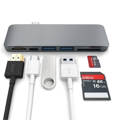 USB-C HUB 6 in 1 HDMI (wireless)