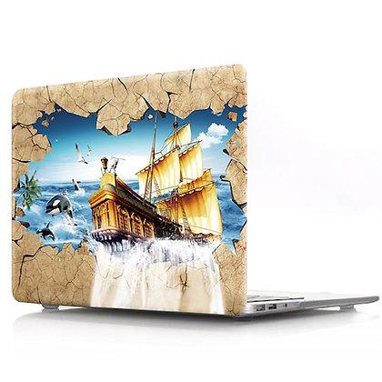 3D train macbook air pro retina 11 12 13 15 design case cover malaysia