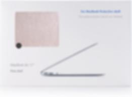 iStand macbook champagne silk case