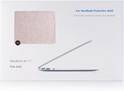 iStand macbook champagne silk case