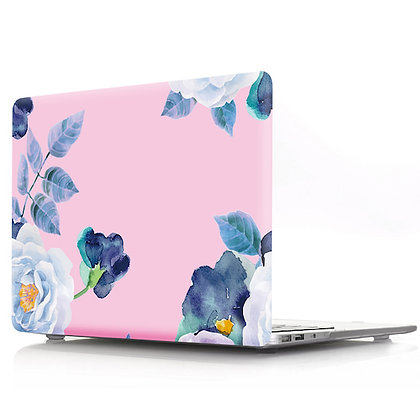 peony floral flower macbook air pro retina 11 12 13 15 case cover malaysia