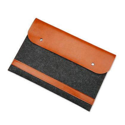 macbook air pro retina touchbar 11 12 13 15 business leather sleeve