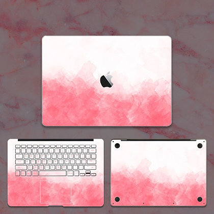 apple macbook pro air retina touchbar 11 12 13 15 inch decal skin sticker pink