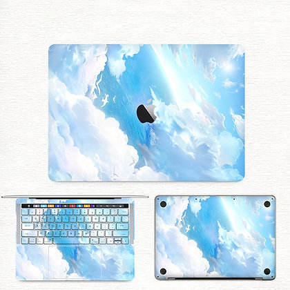 apple macbook pro air retina touchbar 11 12 13 15 inch decal skin sticker sky