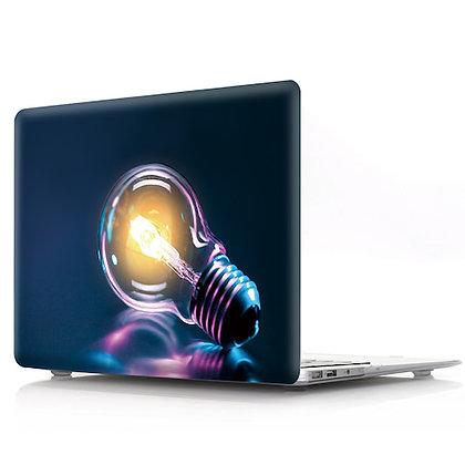 big light bulb macbook air pro retina 11 12 13 15 design case cover malaysia