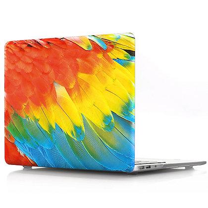 parrot feather macbook air pro retina 11 12 13 15 design case cover malaysia