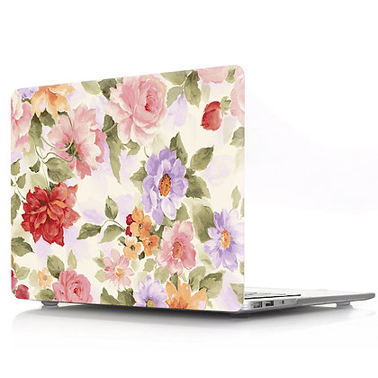seasonal floral flower macbook air pro retina 11 12 13 15 case cover malaysia